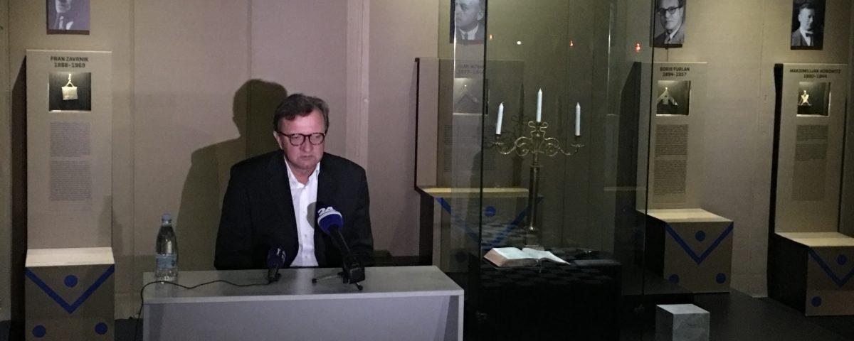 Oddaja o prostozidarstvu, RTV prvi program 8 Prostozidarji in prostozidarstvo Velika Loža Slovenije