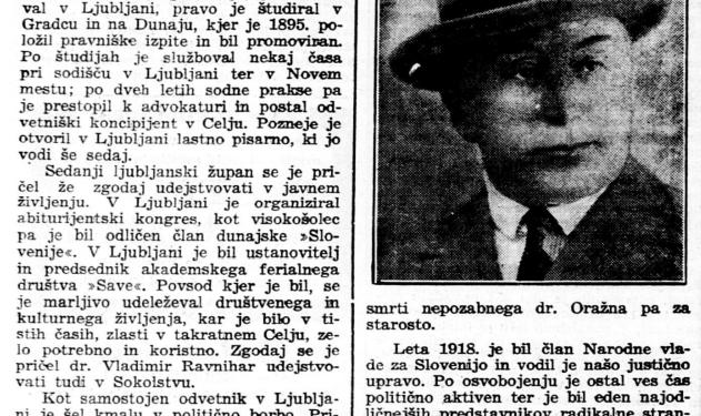 Dr. Ravnihar: Masonstvo v Sloveniji...
